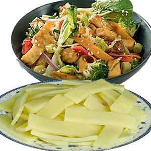 Bamboo Shoots Nutrition