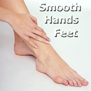 Caring for rough hands and feet
