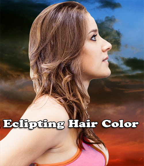 Eclipting Hair Color Technique