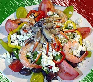 Greece foods