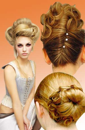 You can pick up styling tips from online hairstyle galleries.
