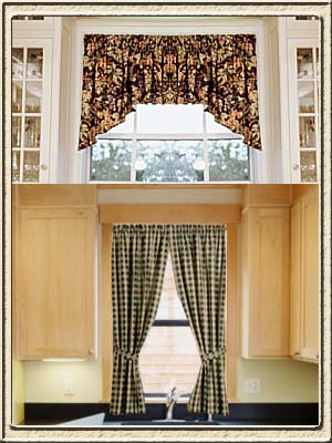 Kitchen Window Curtain Ideas on Kitchen Curtain