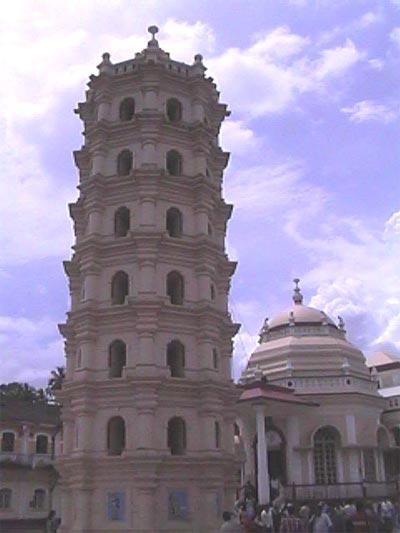 Mangeshi temple in Ponda