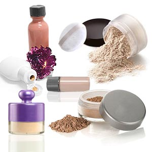 Mineral powder makeup