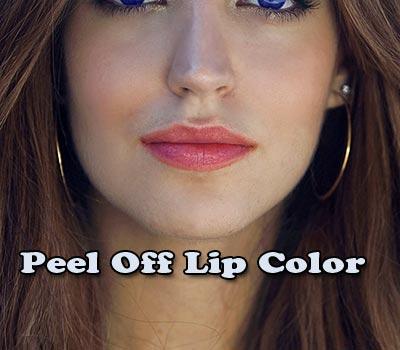 Peel Off Lip Color