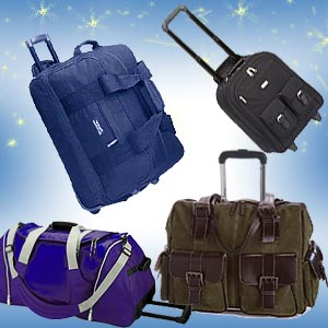 Rolling bags for shopping