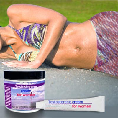 Testosterone cream for women