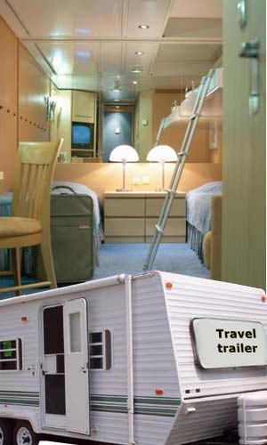 Rental Travel Trailer